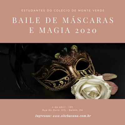 Convite para baile de máscaras