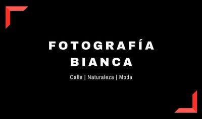 Tarjeta de presentación para fotógrafos