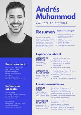 Currículum moderno