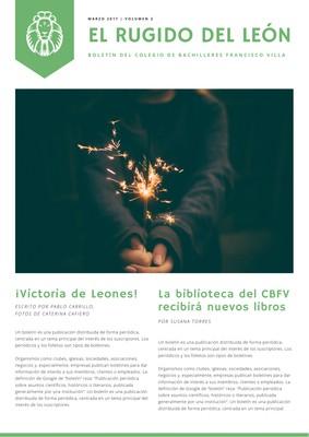 Newsletter para escuelas