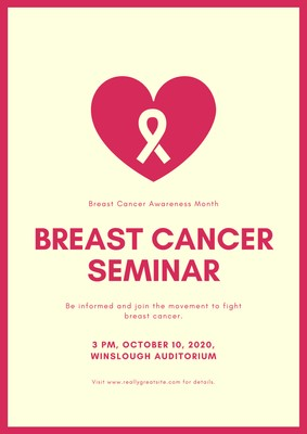Breast Cancer Awareness Posters