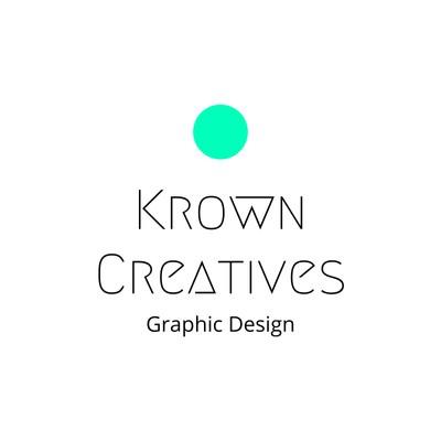 Weißes Kunst- & Design-Logo mit grünem Kreis