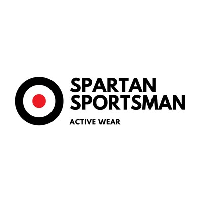 Black with Target Icon Sports Logo
