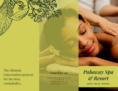 Massage Brochure