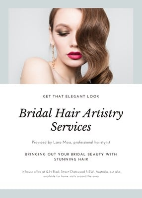 Hair Salon Flyers