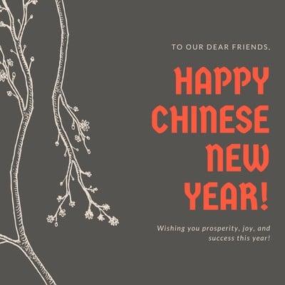 Kiriman Instagram Tahun Baru Cina
