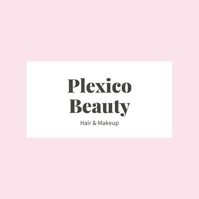 Pink and White Framed Beauty Studio Logo