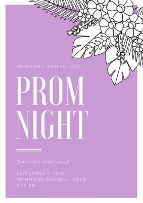 Prom Posters