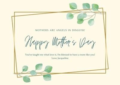 Cartões de Dia das Mães