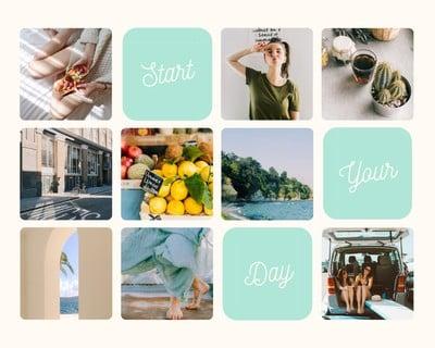 Shape Photo Collage