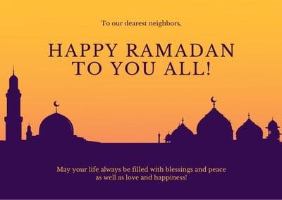 Eid Al-Fitr Card