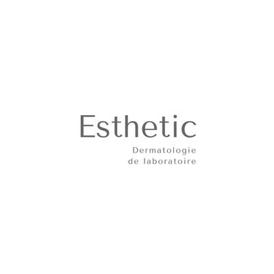 White and Grey Modern Aēsthetic Beauty Logo