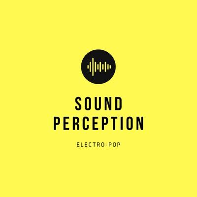 Yellow Sound Wave Icon Band Logo