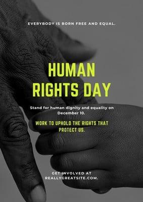 人権問題の啓発ポスター