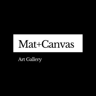 Schwarz-weißes Kunst- & Design-Logo Galerie