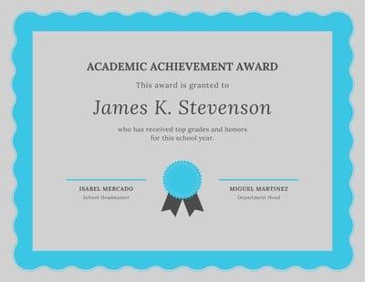 Academic Certificates