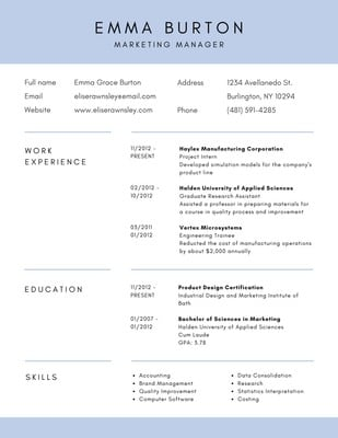 Corporate Resumes