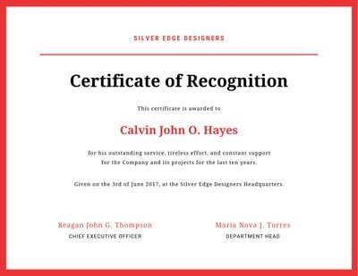 Free Online Certificate Maker Create Custom Designs Online Canva