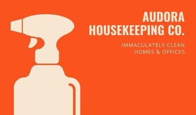 Housekeeper Business Card
