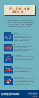 Descriptive City Commuter Infographic