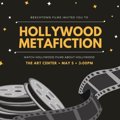 Hollywood Invitation