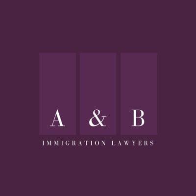 Purple Rectangles Attorney & Law Logo