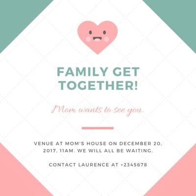 Get Together Invitation
