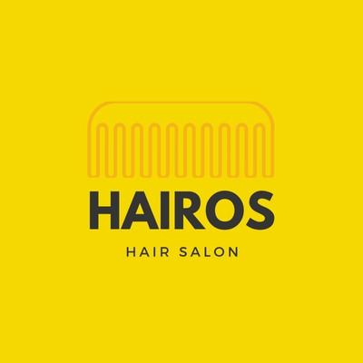 Yellow Comb Salon Beauty Logo