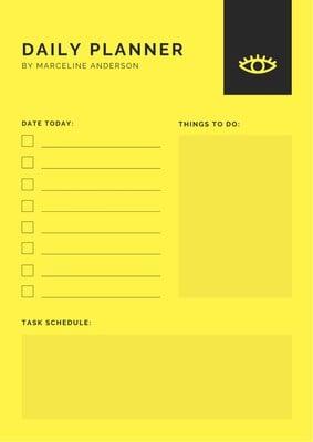 Agenda diaria