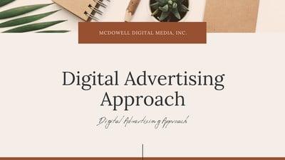 Advertising Presentation