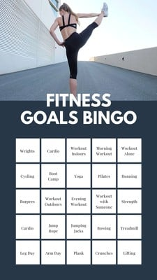 Bingo Instagram Story