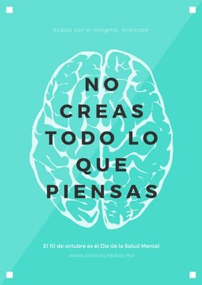 Poster de salud mental