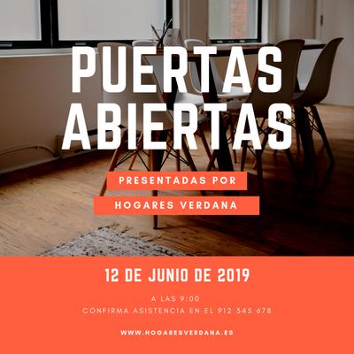 Invitación para visitas inmobiliarias