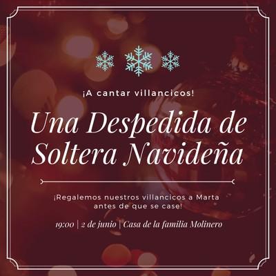 Invitación de Navidad
