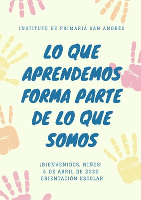 Póster con frases