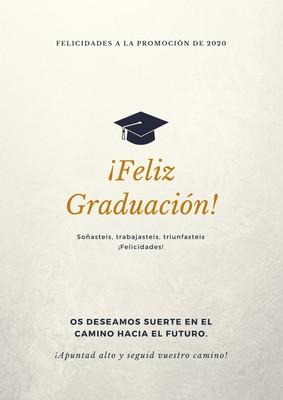 Póster de graduación