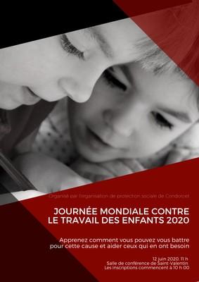 Affiche de Journée mondiale contre le travail des enfants