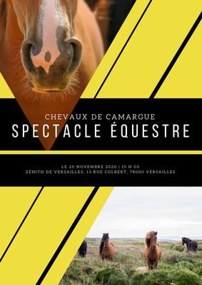 Affiche de cheval