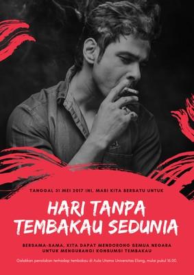 Poster Hari Tanpa Tembakau Sedunia