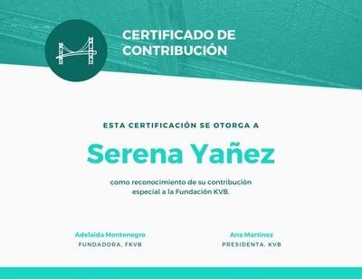 Certificado académico