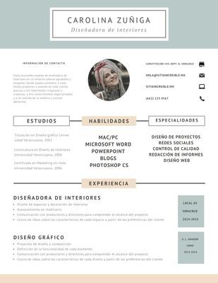 Currículum creativo