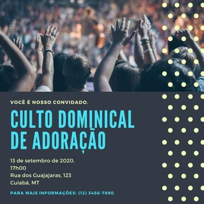 Convite para igreja
