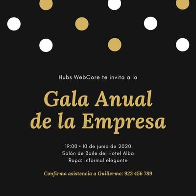 Invitación para gala