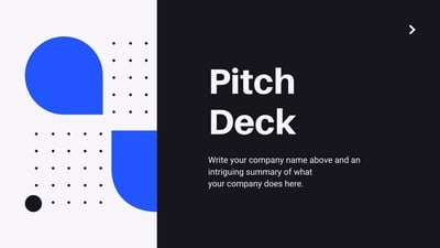 Pitch Deck Presentations