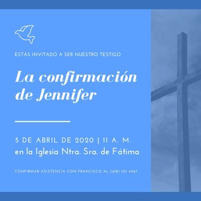 Invitación para iglesia