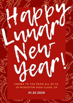 Poster Tahun Baru Cina