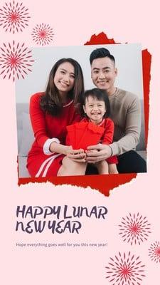 Cerita Instagram tentang Tahun Baru Cina
