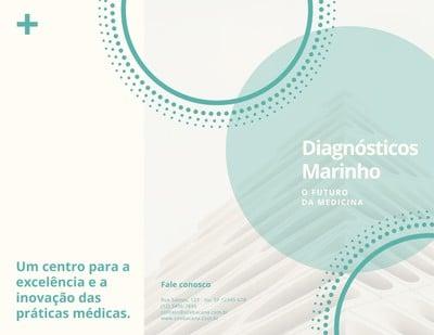 Brochura de medicina