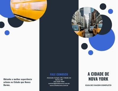 Brochura de turismo