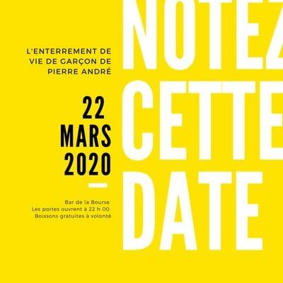 Invitation Save the date